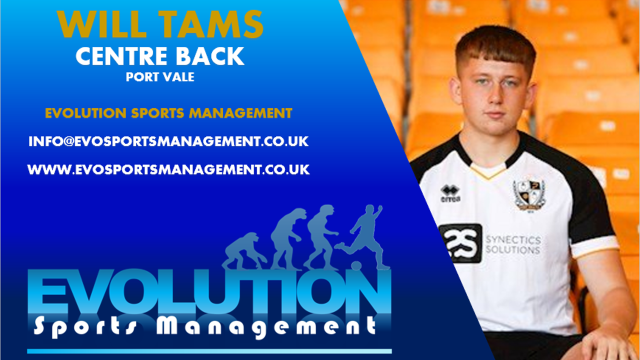 Will Tams Signing Announcement