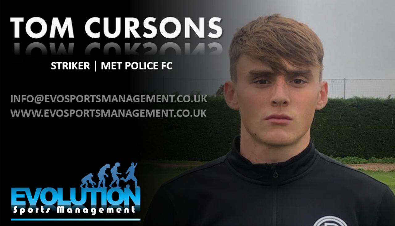 Tom Cursons Signing Announcment