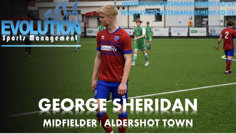 George Sheridan Announcement