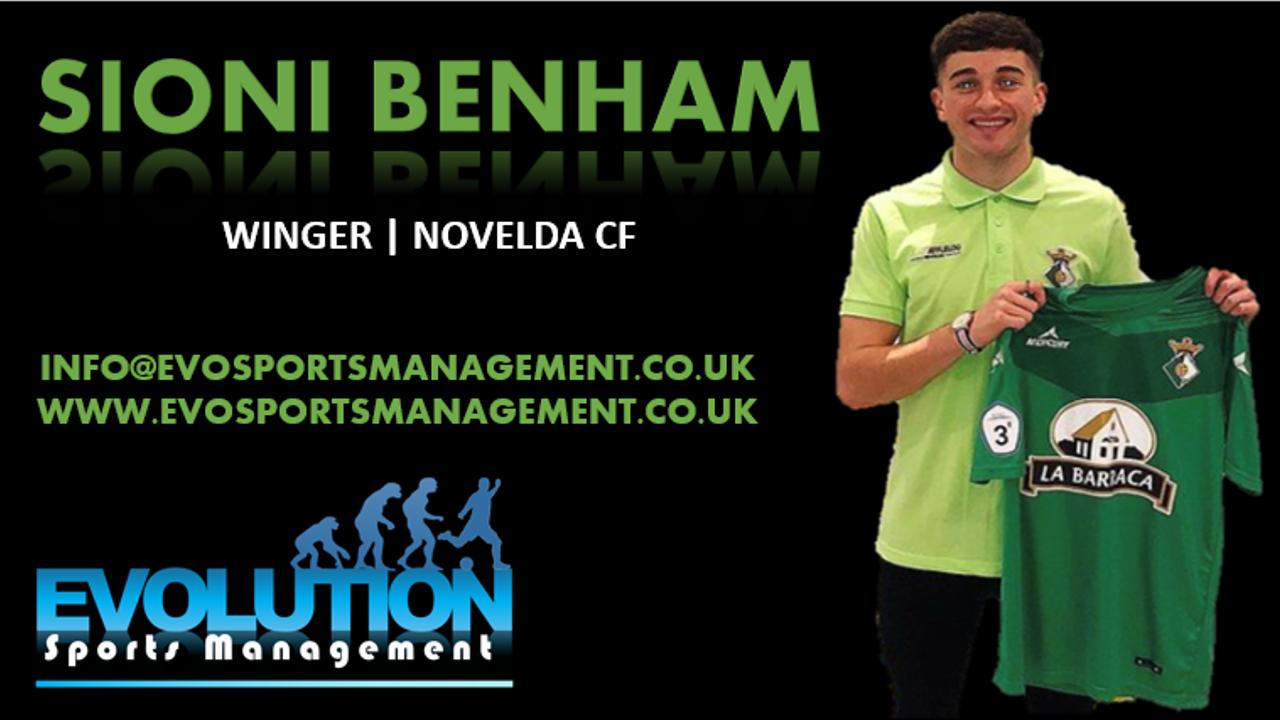 Sioni Benham Signing Announcement 2
